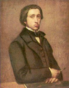 artist-degas:Self-portrait via Edgar Degas
