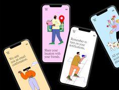 Worklaholics Workaholics #Paid, #Worklaholics People Illustration, Flat Illustration, Character Illustration, Illustrations, User Interface Design, Ui Ux Design, Timer App, Japan Design, Graphic Design Layouts