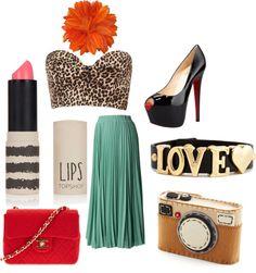 """Love"" by kikajit on Polyvore Love Lips, Topshop, My Style, Polyvore, Image, Fashion, Moda, La Mode, Fasion"