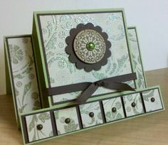 Wow I have to learn how to make these types of cards!!!