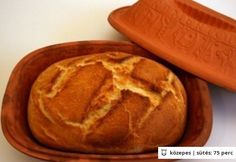Házi fehér kenyér 11. -  Pataki tálban Pastry Recipes, Bread Recipes, Vegan Recipes, Cooking Recipes, Hungarian Recipes, Bread And Pastries, Baking And Pastry, Pressure Cooker Recipes, Sweet Bread