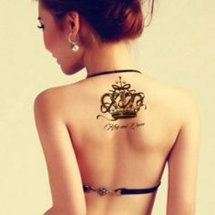 Tatouage-temporaire-Couronne-KIng-and-Queen