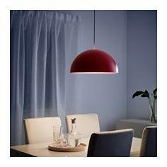 IKEA - IKEA 365+ BRASA, Hängeleuchte, , Die Kunststoffschale innen sorgt für blendfreies Licht.Gerichtetes Licht; gut zum Beleuchten von Ess- oder Fernsehtisch.