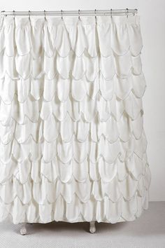 Looks like fish scales! perfect for a mermaid bathroom