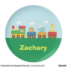 Colourful Cute Animals Train for Kids