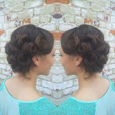 Military ball updo!