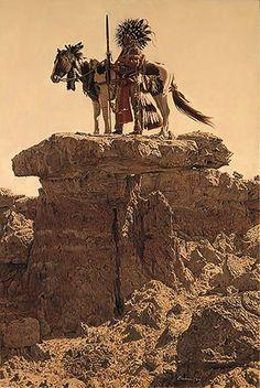 ☆ Cheyenne Dog Soldier :¦: By Artist James Bama ☆