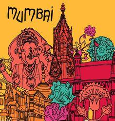 d*sponge city guide Holi, Sponge City, Alabama, Mumbai City, Illustrations, Vintage Travel Posters, India Travel, Incredible India, Indian Art