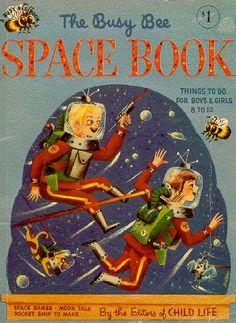 Vintage children's book cover