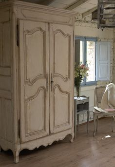 ♕ {still haven't refinished the armoire ~ still deciding on the finish}