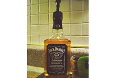 For the Jack Daniels enthusiast, we found this awesome DIY project to turn a JD bottle into a soap dispenser. Should be required for any basement bar out there.