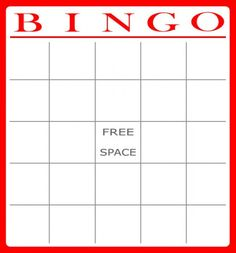 104 best bingo cards images on pinterest bingo games for kids printable templates printable bingo cards spiritdancerdesigns Choice Image