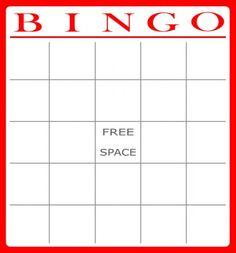 printable #templates Printable Bingo Cards