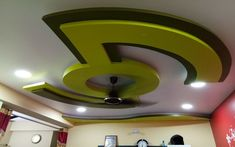 False Ceiling Interior Design at Very Low Cost in Kolkata Drawing Room Ceiling Design, Plaster Ceiling Design, Gypsum Ceiling Design, Interior Ceiling Design, House Ceiling Design, Ceiling Design Living Room, Bedroom False Ceiling Design, Kolkata, Pop Design For Roof