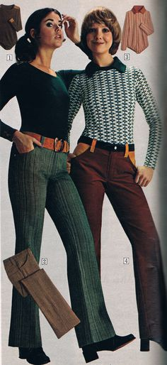 Sears 1972. Colleen Corby and Cay Sanderson.