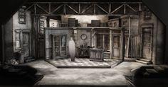 Set Design Model by - Set Design Model by Sean Fanning for Little Shop of Horrors at the Cygnet Theatre in Old Town. Directed by Sean Murray. --- #Theaterkompass #Theater #Theatre #Schauspiel #Tanztheater #Ballett #Oper #Musiktheater #Bühnenbau #Bühnenbild #Scénographie #Bühne #Stage #Set