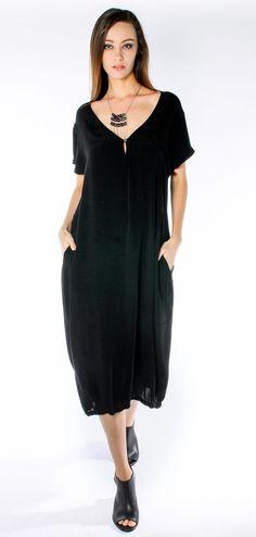 Morgan Marks spring summer 2015-2016 perfect black dress morganmarks.com.au  avail Sept 2015 8beb0369c11
