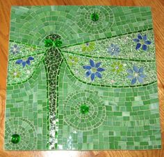 dragonfly; would also look beautiful in my bathroom!