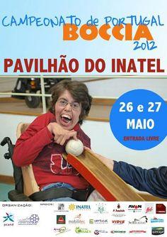 BOCCIA é uma modalidade que é praticada por pessoas com paralisia cerebral