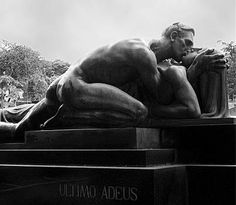 Passion...The Last Goodbye by Alfredo Oliani. The tomb of Family Cantarella, Sao Paulo.