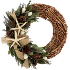 """Christmas in the Islands 18"""" Wreath"""