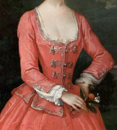 Portrait of a Lady by Jonathan Richardson the elder, c. 18th Century Dress, 18th Century Costume, 18th Century Clothing, 18th Century Fashion, Historical Costume, Historical Clothing, Female Clothing, Historical Art, Fashion History