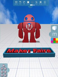 #HappyBirthdayMakerFaire and many thanks for inspiring us all!Love, Morphi   #MakerFaire #makers #makered #3dprinting