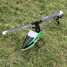 Hisky HCP100 FBL100 2.4G 6CH Flybarless Mini 3D RC Helicopter BNF