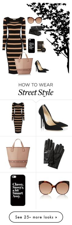 """Style"" by livvvysmith on Polyvore featuring Oasis, BCBGMAXAZRIA, River Island, Casetify, Jimmy Choo, Linda Farrow and Banana Republic"