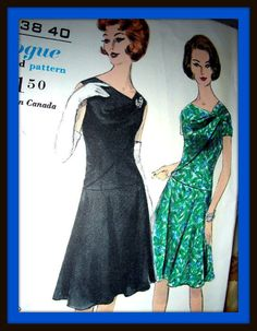Vintage Vogue Special Design Sewing Pattern 4299 by anne8865, $35.60