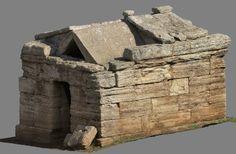 Modello 3D di tomba etrusca a edicola , Baratti, 2016 - Alberto Antinori