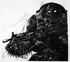 Gears Of War - Art Work #GOW