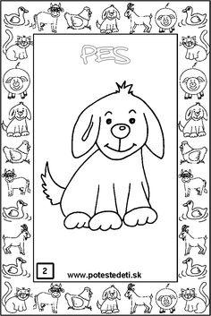 domaci-zviratka-pd-02-pes Montessori, Comics, Art, Index Cards, Comic Book, Kunst, Comic Books, Comic, Comic Strips