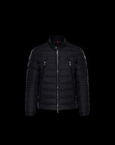 MONCLER AMIOT - Biker jackets - men