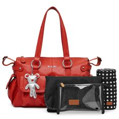 Look no further than Il Tutto for the perfect stylish designer nappy bag, baby bag & baby shower gift for fashionable mothers. Designer Baby Bags, Trendy Baby, Nappy Bags, You Bag, Red Leather, Baby Shower Gifts, Stylish, Stuff To Buy, Closet