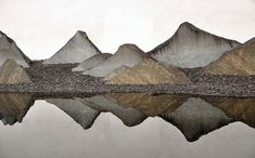苏州博物馆 Suzhou Museum rock landscape by I.M. Pei, via Flickr.