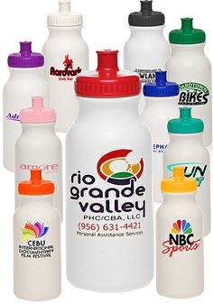 Wholesale Custom Plastic Water Bottles & Sports Bottles BPA Free - Free Shipping
