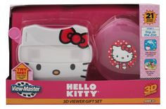 Hello Kitty Pink View-master Viewer Reels & Storage Case Gift Set for sale online Hello Kitty Games, Hello Kitty Toys, Hello Kitty Characters, 3d Camera, View Master, Toddler Toys, Toddler Girl, Plush Dolls, Xmas Gifts