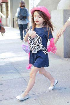 Suri Cruise es una de las pequeñas más fashion de Hollywood - InStyle