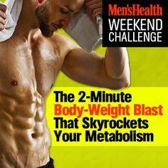Can you survive our intense ladder drill #weekendchallenge? Tell us in the comments if you can beat Todd Durkin's time of 2:10! http://www.menshealth.com/fitness/weekend-challenge-2-min-body-weight-blast?cid=soc_pinterest_content-fitness_july14_2minbodyweightblast