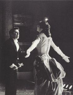 Maria Callas et Giuseppe Di Stefano dans La Traviata; photo par Erio Piccagliani, 1955.