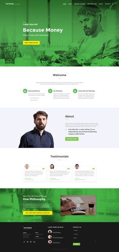 Financial Advisor Responsive Website Template http://www.templatemonster.com/website-templates/financial-advisor-responsive-website-template-58881.html