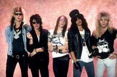 Guns N' Roses - Duff Mckagan, Izzy Stradlin, Axl Rose, Slash & Steven Adler