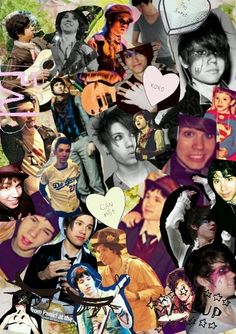 Ryan Ross collage oh dear lord.