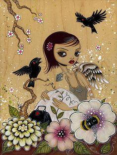 #FlowerShop                                    Entomology 3 by Caia Koopman