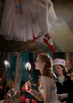 The Red Shoes. One of my favorites! It's like an old version of Black Swan