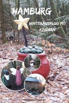 """Im Kleckerwald südlich von Hamburg findet Ihr einen spannenden Märchenwanderweg. Folgt der Geschichte um den fiesen und verschwundenen""""Trickser"""", der den Zauberstab zerbrochen hat. Werden Elfen, Kobolde und Feen sein Geheimnis lüften und einen neuen Stab bekommen? Ein toller interaktiver Weg mit vielen Mitmachstationen und einem süßen Café am Ende. Eine perfekte Unternehmung mit Kindern, nicht nur an kalten Wintertagen. Geocaching, Bird, Outdoor Decor, Home Decor, Travel, Day Trips, Decoration Home, Room Decor, Birds"""