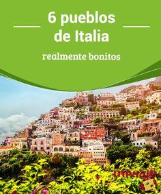 6 pueblos de Italia realmente bonitos  Es imposible hacer una #lista completa de los #pueblos de #Italia que merecen una #visita. Recorremos solo seis, maravillosos y encantadores. #Tops Travel Tips, Beautiful Places, Italy, Destinations, Sweater, Maps, World, Italy Travel, European Travel