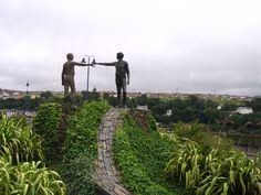 Derry Peace Memorial  By RG Bud Phelps. My Irish granny's family came from Derry.