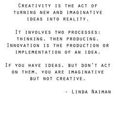 create is the keyword.